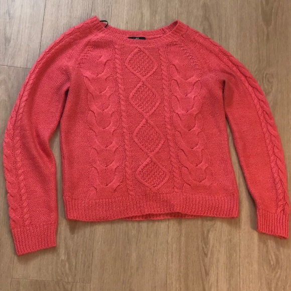 92fab93d401 H&M Cable knit Sweater